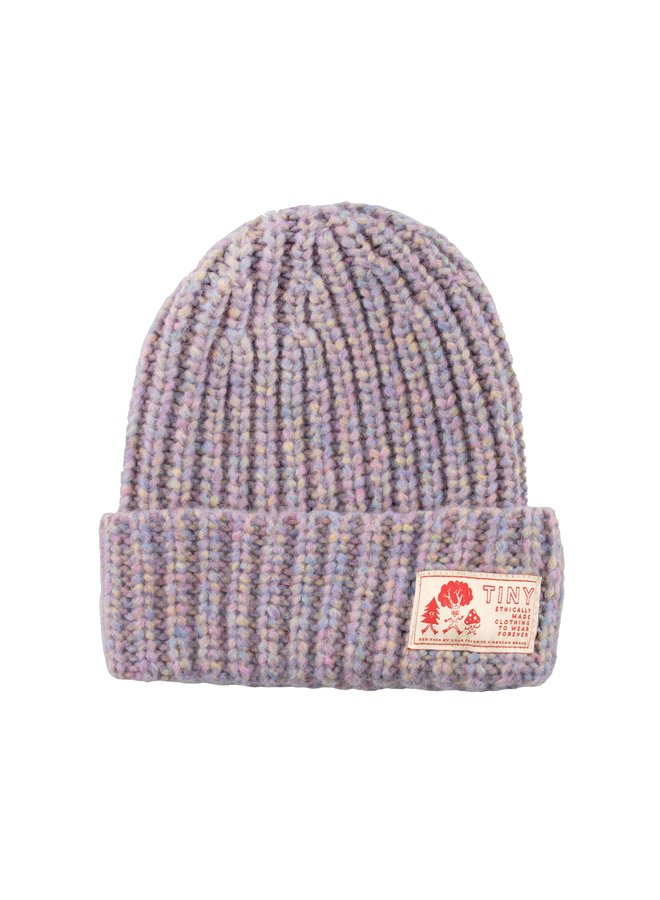 Tiny Cottons - Solid Beanie, pastel multicolor