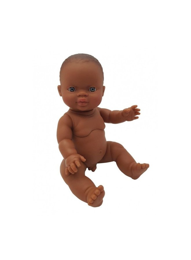 Pop Gordi - jongen donker & blauwe ogen 34cm