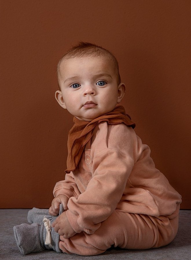 Gray Label - Baby Track Pants, rustic clay