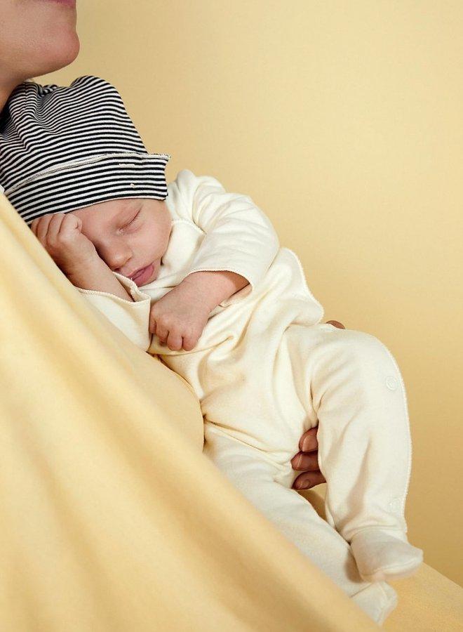 Gray Label - Baby Beanie, nearly black/cream