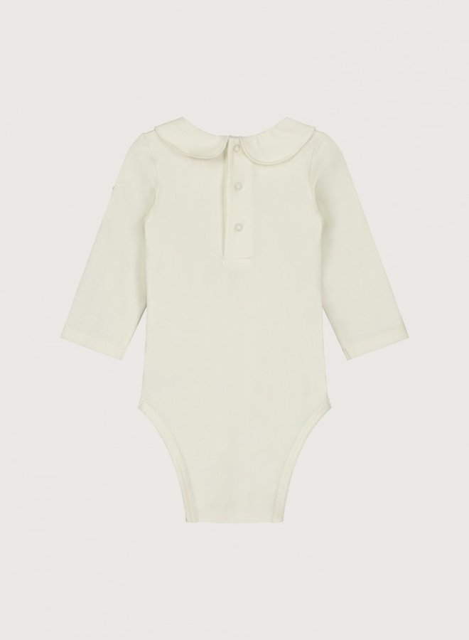 Gray Label - Baby Collar Onesie, cream