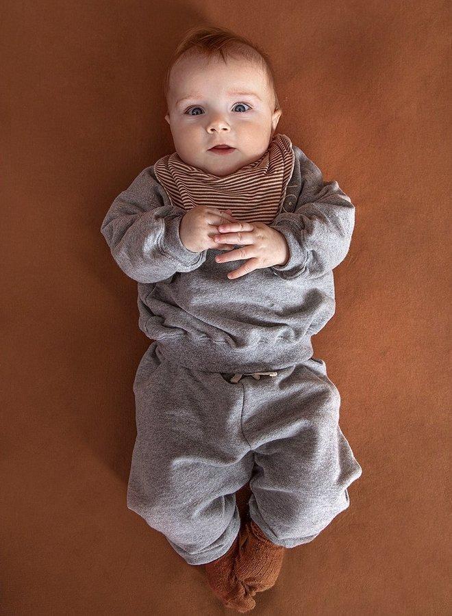 Gray Label - Baby Bib, autumn/cream
