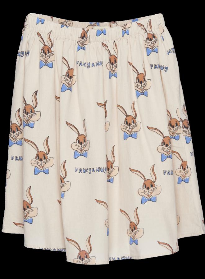 Wander & Wonder - Slip Skirt, ecru bunny