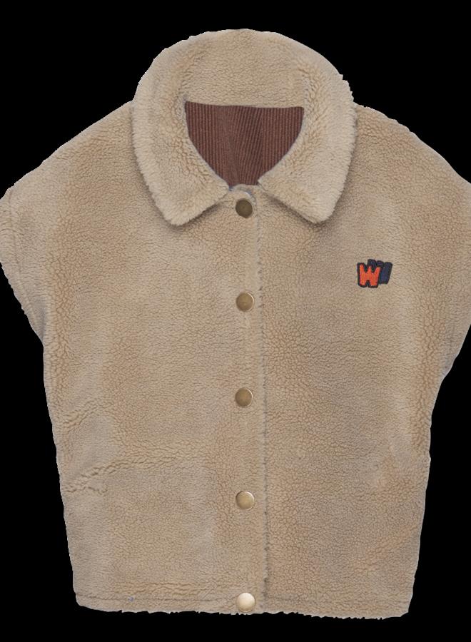 Wander & Wonder - Reversible Vest, cinnamon cord