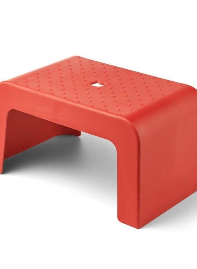 Liewood Ulla step stool apple red