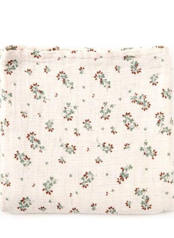 Garbo&Friends - Muslin swaddle blanket, clover