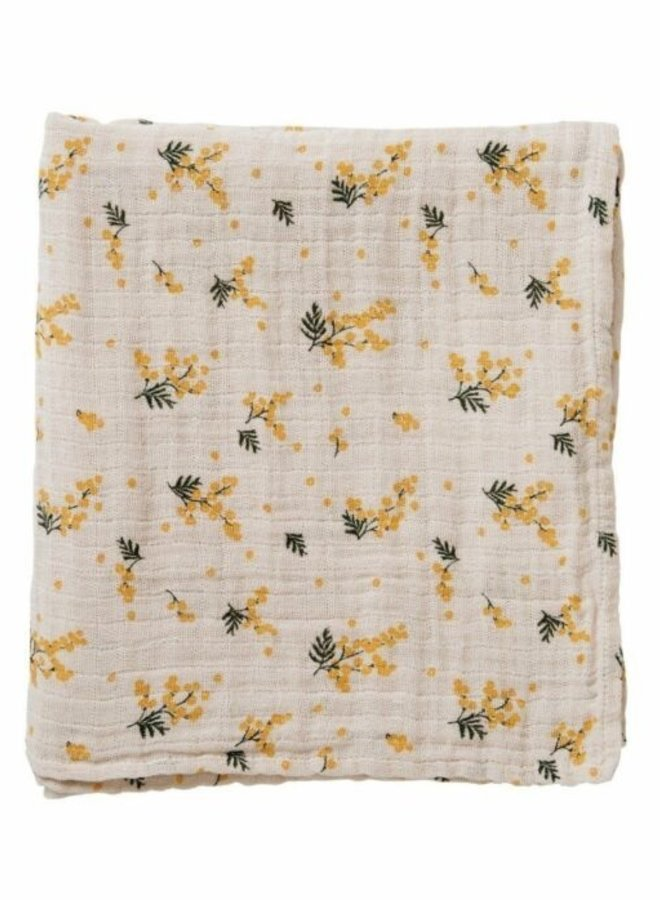 Garbo&Friends - Muslin swaddle blanket, mimosa