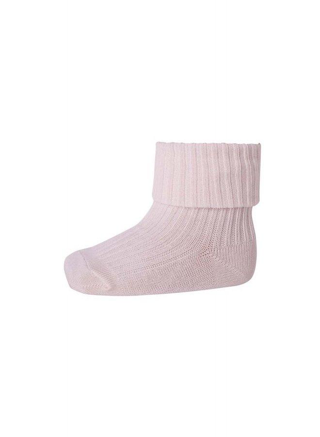 MP Denmark - Rib Baby  Socks 533 870 Rose Grey