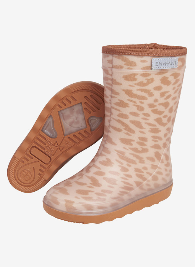Enfant - Thermo Boots Print, leather brown