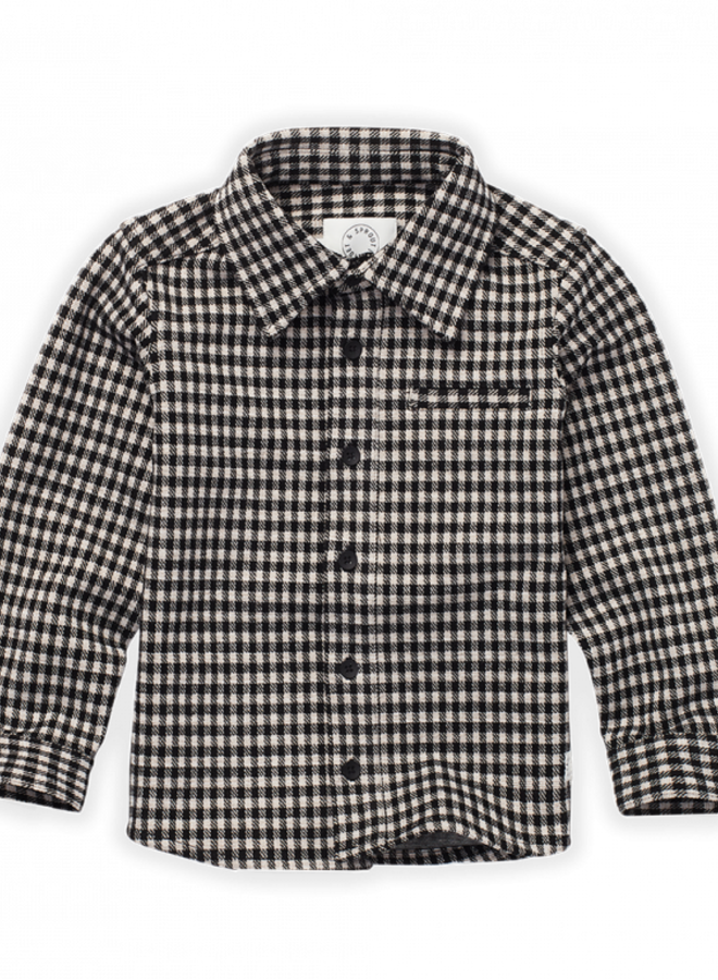 Sproet & Sprout - Blouse Block Check, black