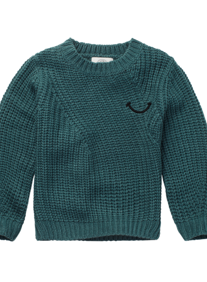 Sproet & Sprout - Sweater Smile, pine green