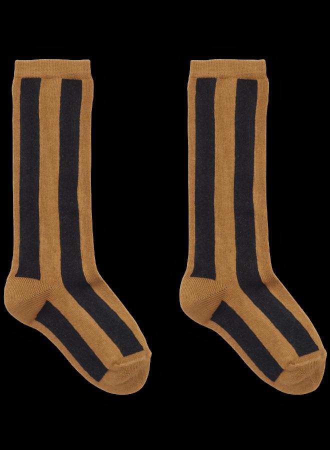 Sproet & Sprout - Sock Stripe Mustard
