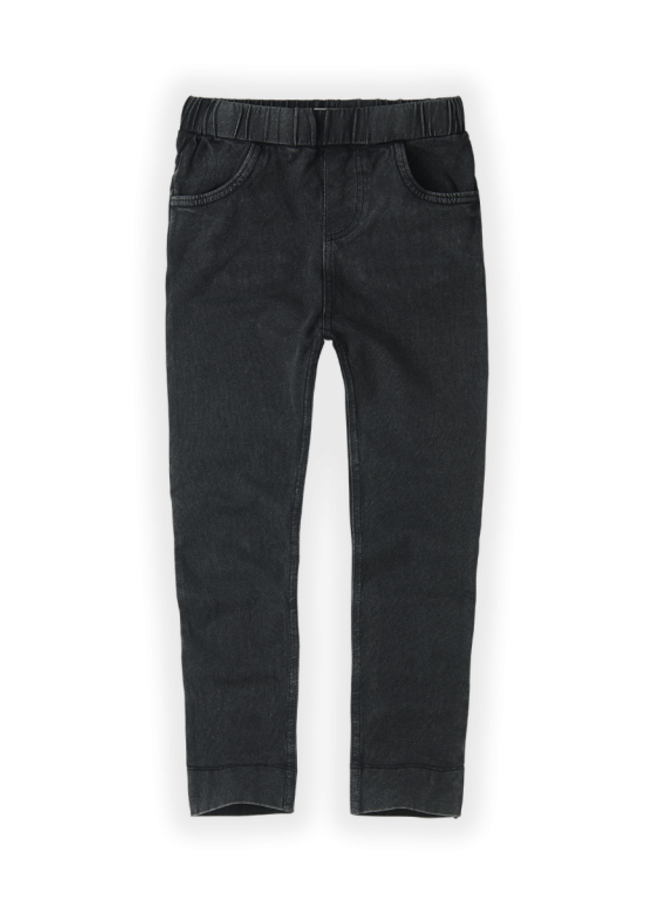 Sproet & Sprout - Legging Jersey Denim washed black