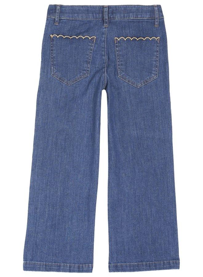 Emile et Ida - Medium Bleach Sailor Trousers