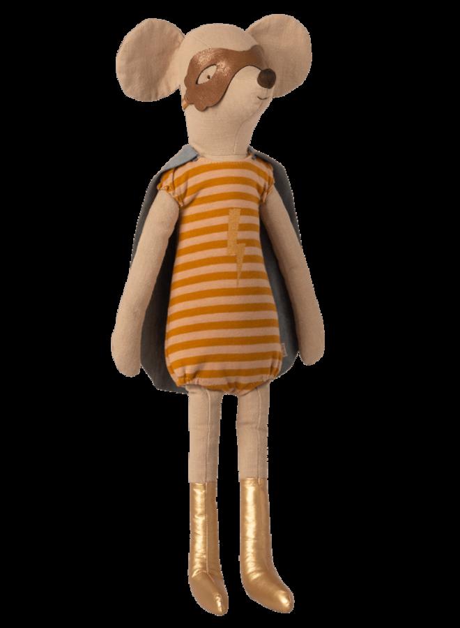 Maileg - Super hero mouse, maxi girl