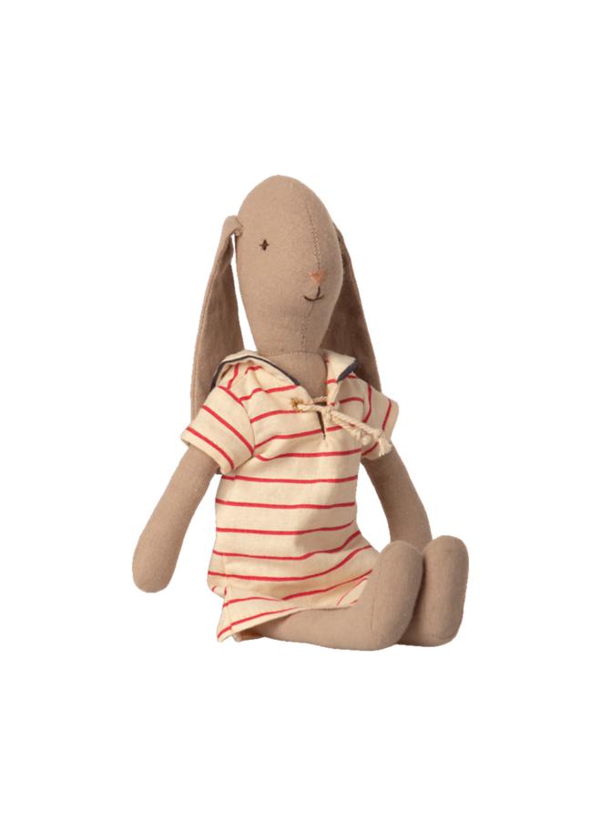 Maileg - Bunny size 2, striped dress
