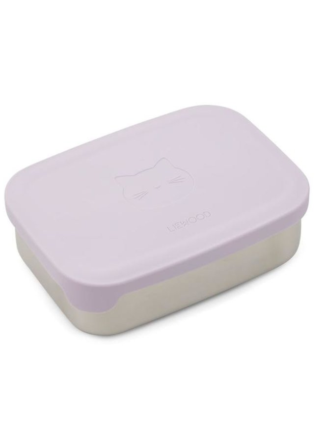 Liewood - Nina lunchbox Cat light lavender
