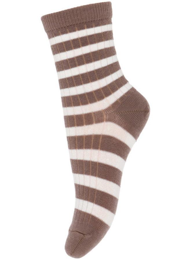 MP Denmark Socks 79200 76 Pale Brown