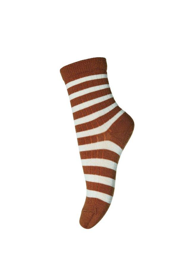 MP Denmark Socks 79200 1393 Cinnamon