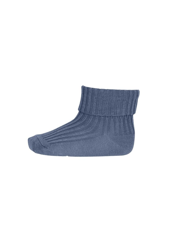 MP Denmark - Rib Baby  Socks 533 4222 Stone Blue
