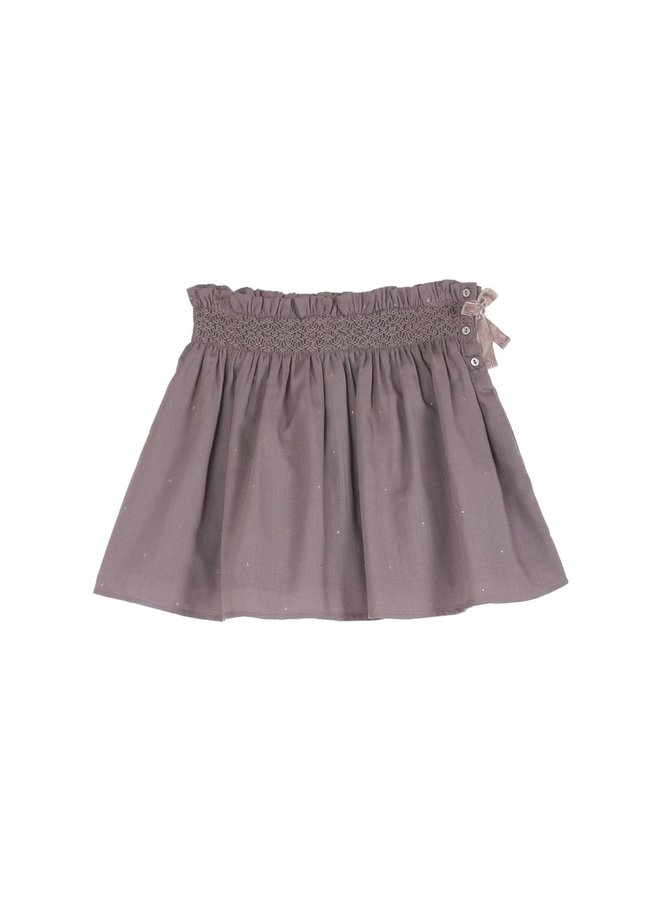 Emile et Ida - Wrap Around Skirt, lavender