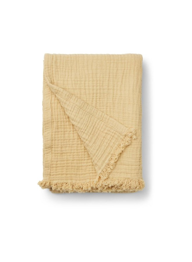Liewood - Magda Muslin Blanket, wheat yellow