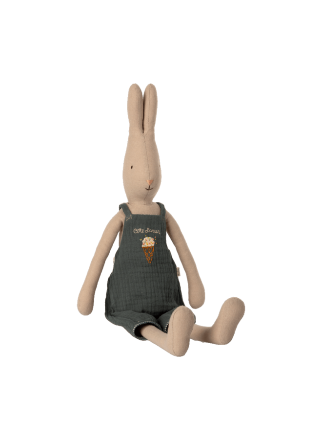 Maileg - Rabbit size 3, overall green