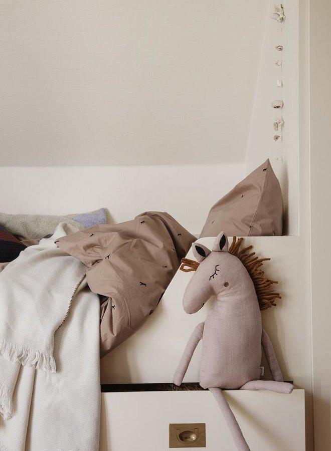 Ferm Living safari kussen paard - dusty rose