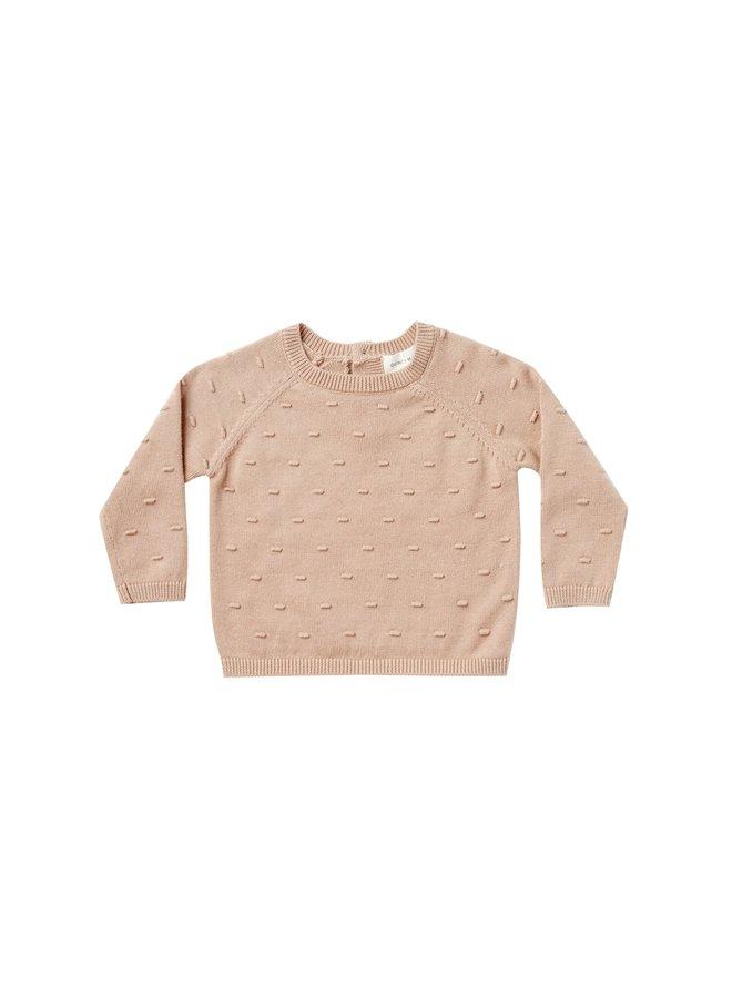 Quincy Mae - Bailey Knit Sweater, petal