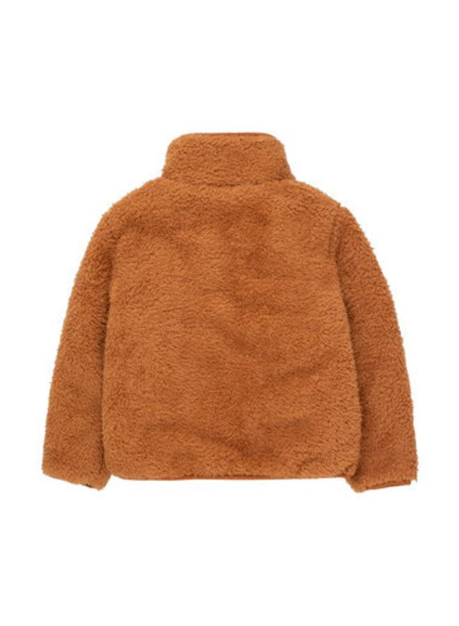 Tiny Cottons - Polar Sherpa Jacket, toffee