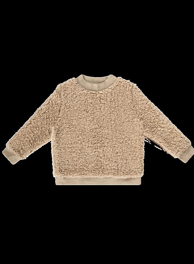 House of Jamie - Teddie Crewneck Sweater oatmeal