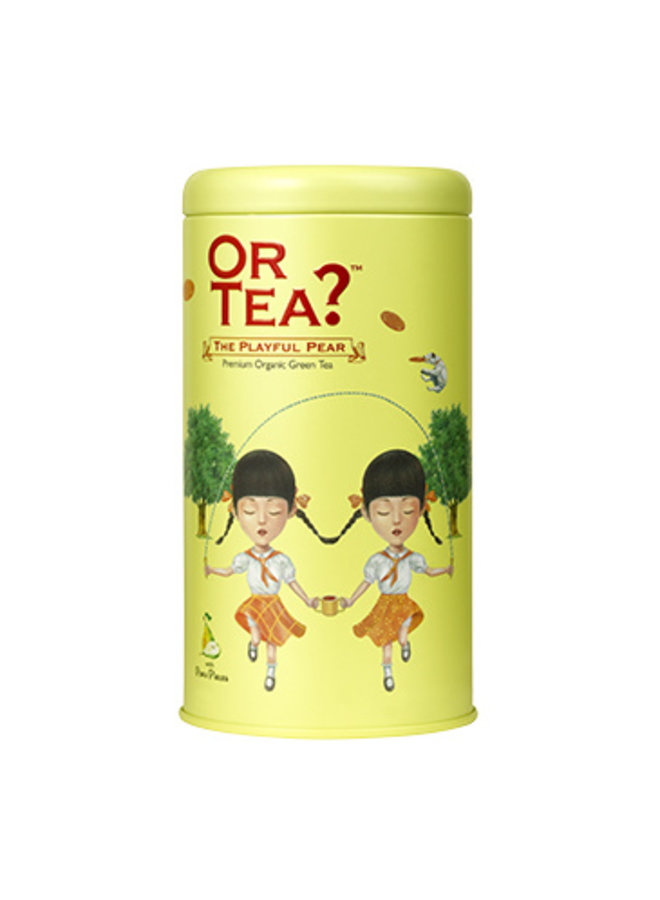 Or Tea? The Playful Pear - Double Green Tea with Fruit Infusion (85g) loose tea