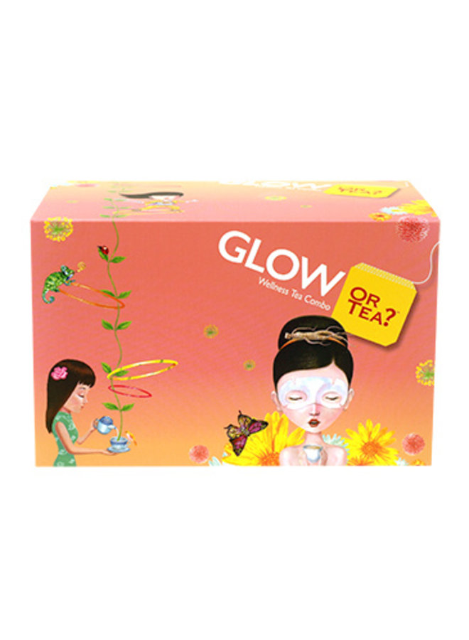 Glow - WellBeing Tea Combo (46g / 20 sachets in 5 different flavours)