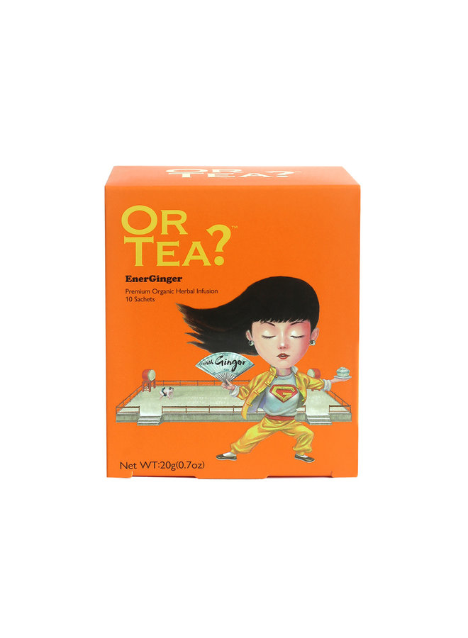 Or Tea? EnerGinger - Infusion aux herbes (20g)