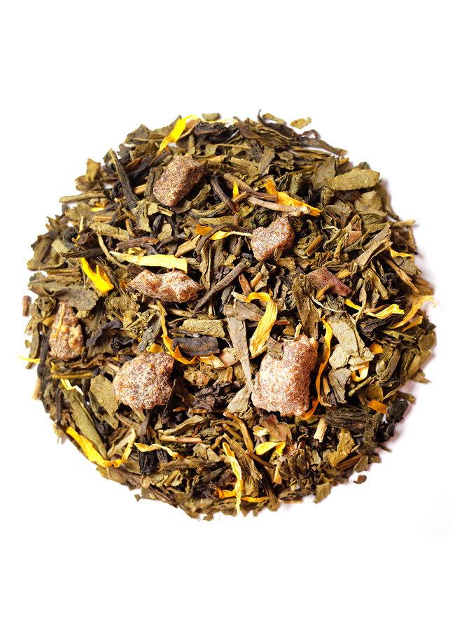 Or Tea? The Playful Pear - Dubbele groene thee met fruit (85g) losse thee