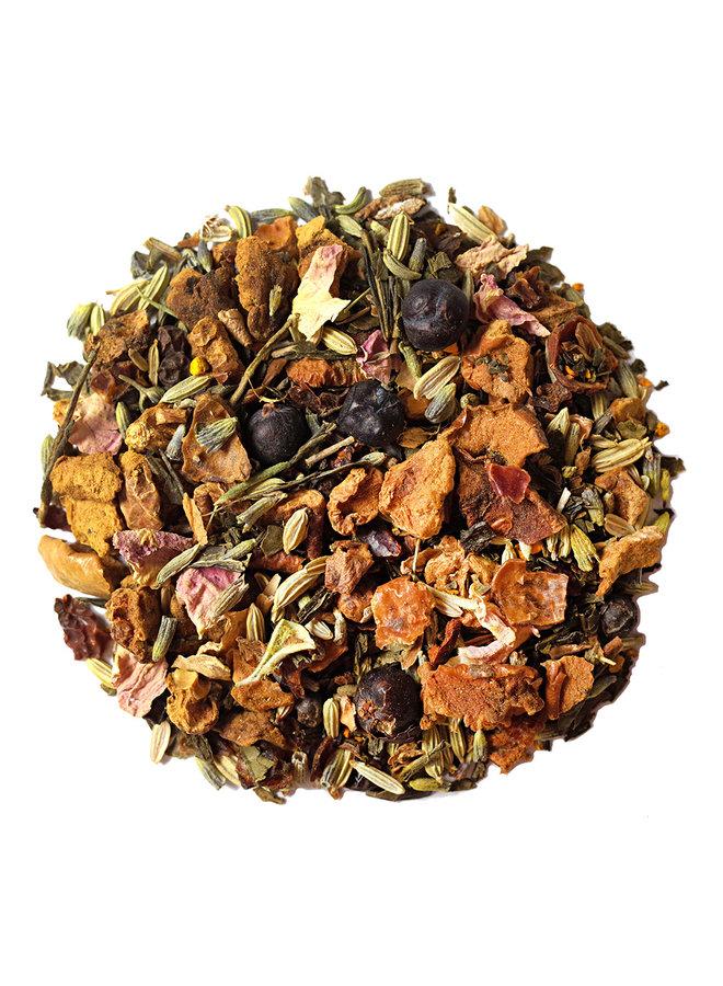 Or Tea? Detoxania - Thé vert avec infusion d'herbes et de fruits (90g) thé en vrac