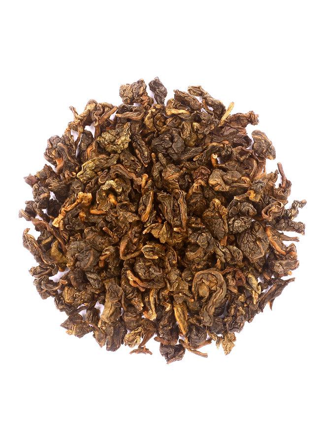 Or Tea? Peach Monkey Pinch - Peach Oolong (80g) losse blauwe thee