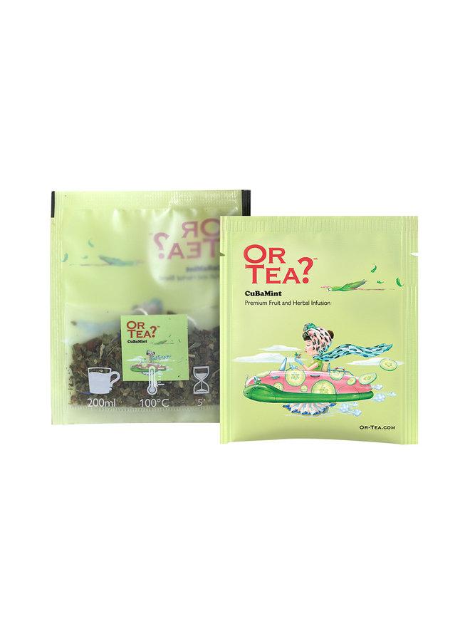 Or Tea? CuBaMint - Infusion de plantes et de fruits (20g)