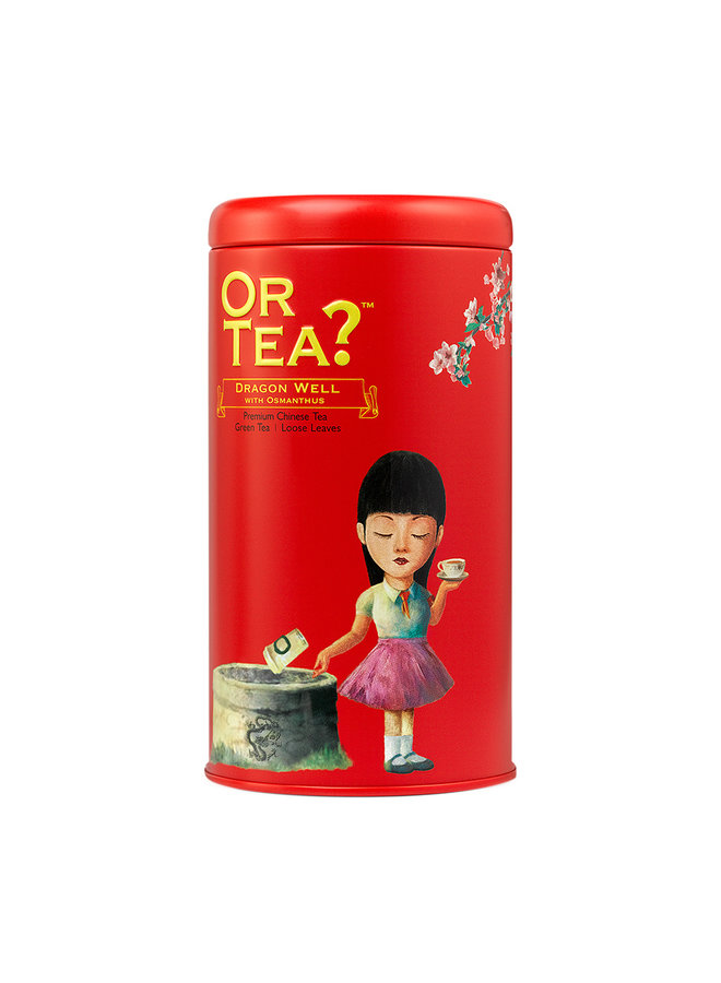 Dragon Well with Osmanthus - Theeblikken (90g)