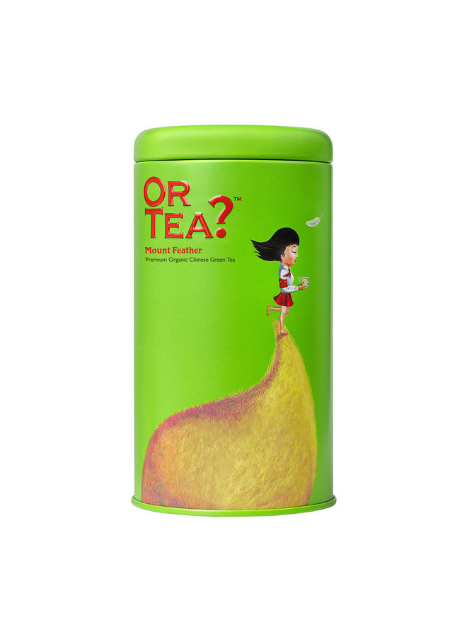 Or Tea? Mount Feather - Groene Thee (75g) losse thee