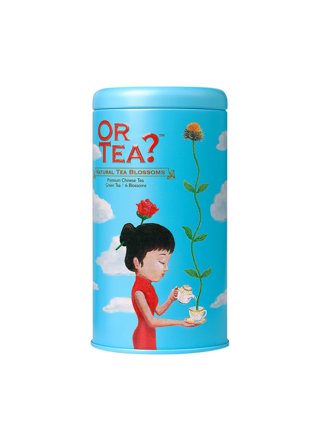 Natural Tea Blossoms  - Tin Canister (42g, 6pcs)