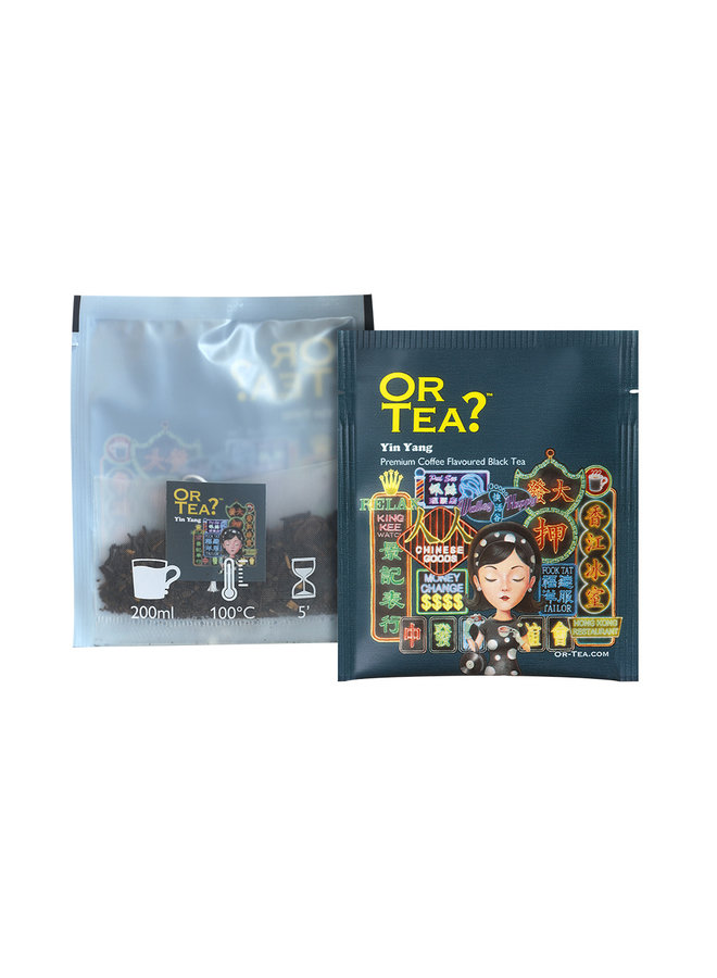 Yin Yang - Coffee flavoured black tea (25g)
