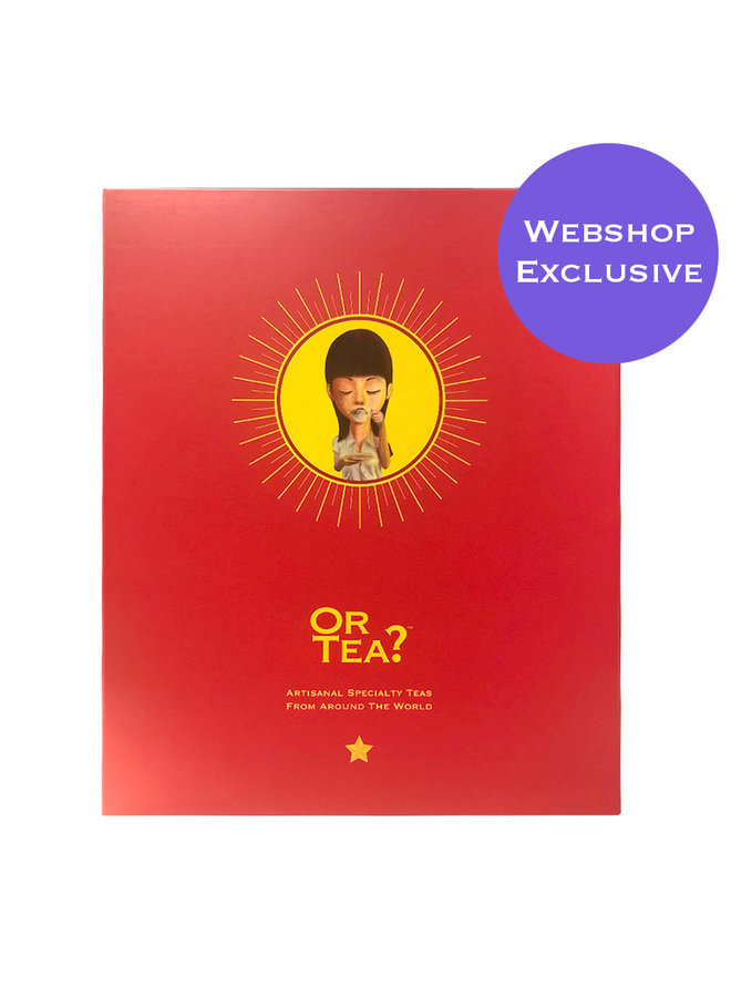 Or Tea? Big Red Book – Edition II 9 flavors of tea with 45 bags