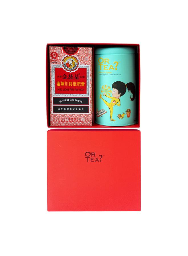 Flu Soothing Combo - Kung Flu Fighter Blik x  Nin Jiom Herbal Honey