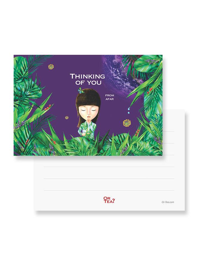 Organic Detoxania Tea2theworld - Thinking of you from afar (1 Sachet)