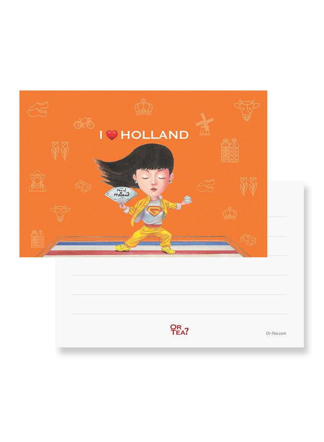 Or Tea? Organic EnerGinger Tea2theworld - I love Holland (1 Sachet)