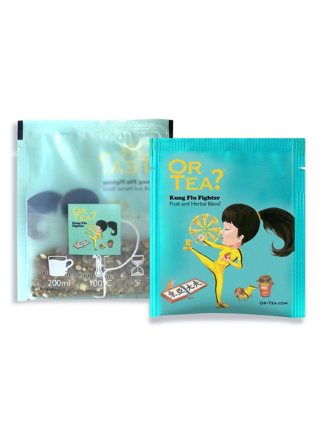 Flu Soothing Combo - Kung Flu Fighter 10 Sachet Box + Nin Jiom Herbal Honey (150ml)