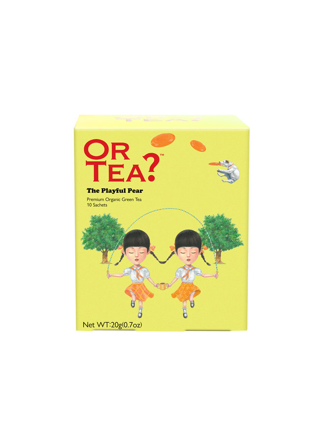 The Playful Pear - Green Tea with Pear (20g)
