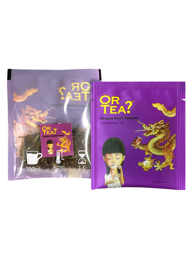 Or Tea? Dragon Jasmine Green  (10 zakjes) Groene Thee