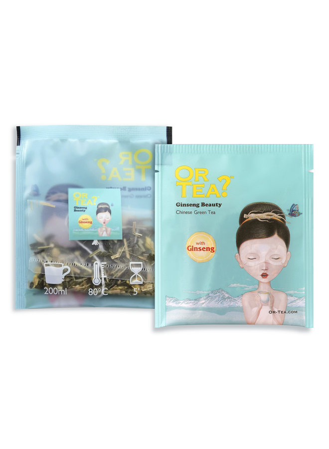 Or Tea? Ginseng Beauty - Green Tea with Herbal Infusion (20g)